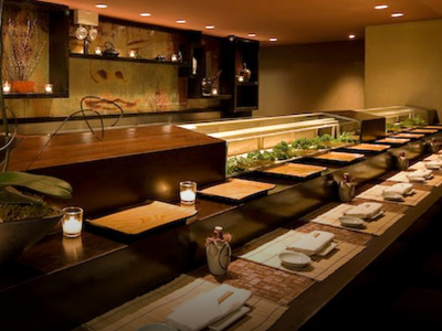 Sushi Bar at Koi New York