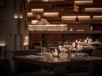 Dining Room at Koi Abu Dhabi