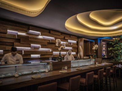 Sushi Bar at Koi Abu Dhabi