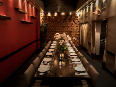 Private Dining Room at Koi Los Angeles