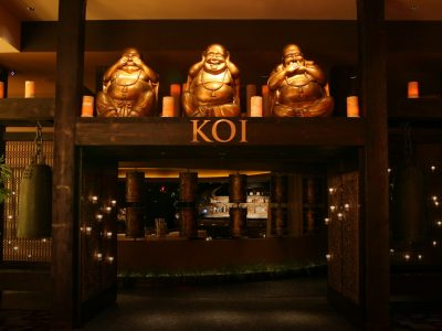 Entrance to Koi Las Vegas