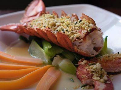 Sesame Encrusted Lobster Tail